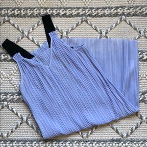 Topshop Pleated Flowy Dress